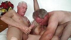 پیره مرد کیر ش راس کرده همرو بکنه